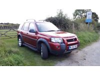 2005 Freelander, recently replaced gearbox and clutch, and two new tyres. Good runner.