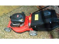 Champion self propelled petrol lawnmower