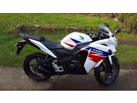 Well kept CBR125R LOW MILEAGE! one female owner from new.