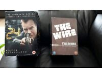 24 and the wire complete box set