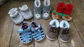 Baby Shoes - Various Designs 9-12 m