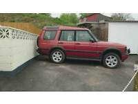 Landrover discovery Td5 auto breaking for spares