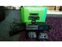 Boxed xbox one with kinect