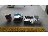 Crockery and cutlery