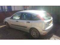 52 ford focus lx 1.8 NEW CLUTCH + BATTERY (Long MOT)