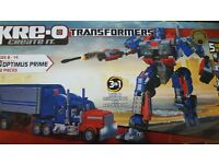 Lego/Kreo Optimus Prime Transformer