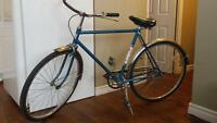 vintage fixed gear cruiser
