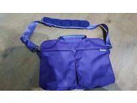 Laptop bag purple