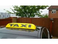 TAXI PLATE FOR SALE (OFFERS CONSIDERED)