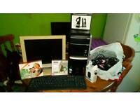 Packard Bell PC set up (read description)