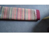 Terracotta Stripe Rug