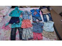 Boys 2/3 and 3/4 year summer bundle