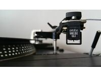 DUAL CS-506 with a ORTOFON VMS20E Mk2 Excellent Record Player Turntable TOP Quality AUDIOPHILE