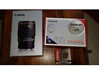 Canon EF 100mm f/2.8L Macro IS USM + Opteka 25mm Tube + Amaran Ring Light