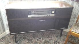 Vintage Grundig Radio and Record player - DELIVERY AVAILABLE
