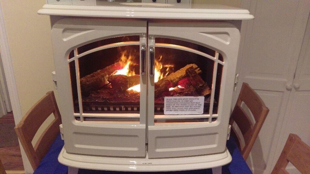DIMPLEX OPTI-MYST GRAND CREAM ELECTRIC STOVE Heater