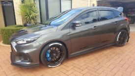 FORD FOCUS ST/RS SIDE SKIRTS SPLITTERS MAXTON GLOSS BLACK