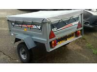 Erde 122 galvanised trailer