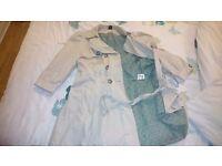 Bay trading mac belted jacket size 14