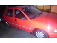 Daihatsu charade 1995 1.3 16v red Classic Car only 64k