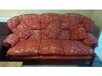 Sofa set excellent condition 3+2+1