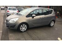 VAUXHALL MERIVA 1.4 EXCLUSIVE TURBO 60 PLATE IDEAL FOR FAMILY CAR