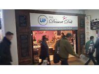 Sales assistant, Dessert Deli and UP Caffe Bar Clapham Junction