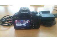 Canon EOS 550d + Lens EFS 18-55mm