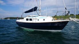 WESTERLY CENTAUR 26 ONE OF THE LAST ONES BUILT, RECENT ENGINE, PRICE JUST REDUCED TO SELL £7950