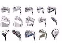 Wholesale & Job Lot 197 Assorted Mizuno Golf Clubs Irons, Driver, Fairway Wood