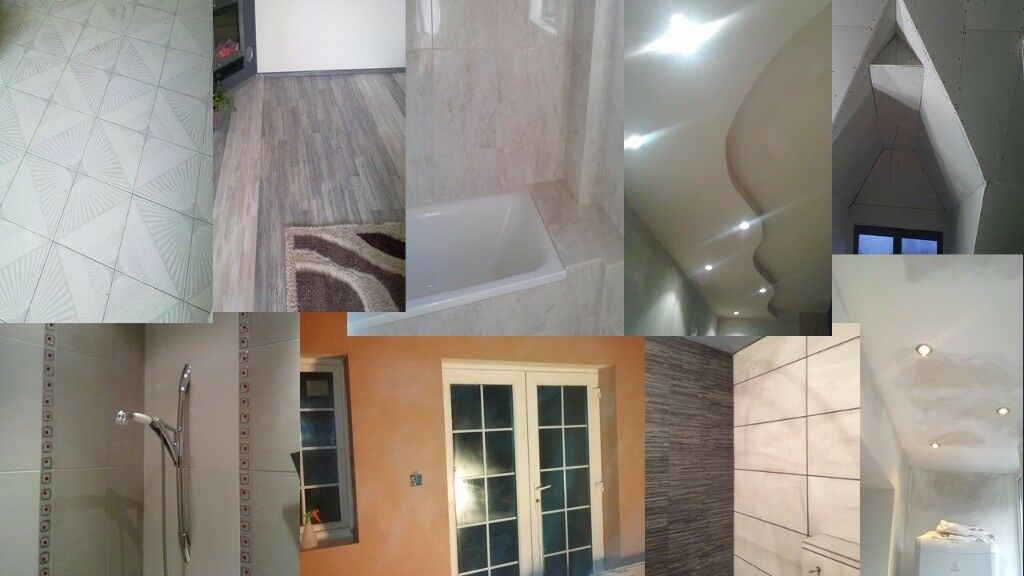 Plastering Tiling Painting Partitions Bathrooms Ceilings Enchanting Bathrooms Partitions Painting
