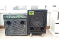 Trace Elliot combo amplifier and speaker