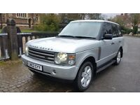 RARE 2002 LAND ROVER RANGE ROVER 4.4 V8 VOGUE AUTO 1 OWNER FROM NEW FULL SERVICE HISTORY TOP SPEC