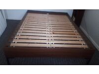 Stylish and sturdy double bed frame for sale. Like new. Only £85.00