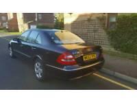 2003 Mercedes E class 2.7cdi Auto diesel avantgarde..satnav..dvd..x2 keys..Hpi clear..No faults