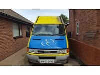Iveco daily 2.3 diesel good body rear axle and geaebox spot on recent clutch and rear sprinf