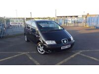 2007 SEAT ALHAMBRA 2.0 TDI FULL MOT 3 MONTH WARRANTY PX WELCOME **FINANCE AVAILABLE**