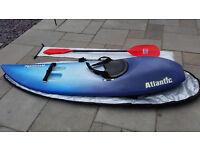 Atlantic Wave Ski including bag & paddle