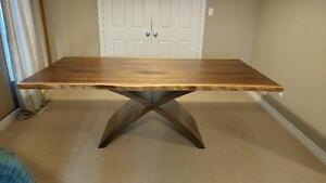 Beautiful Live Edge Tables and Live Edge Furniture - NO TAX to get ready for SPRING!!