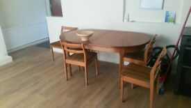 Dining Table - Solid Wood - Potters Bar