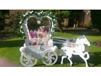 Stunning candy cart
