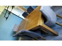 Solid oak table (oak furniture land) 8 seater