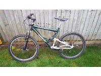 26inch adult full suspension mountain bike