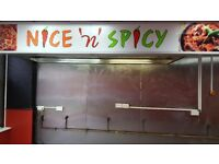 Hot food takeaway To Rent £165p/w. 163 main st. wishaw Ml2 7au