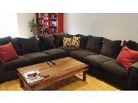 Large Corner Sofa - Excellent Condition