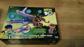 Ben 10 vilgax battle ship new