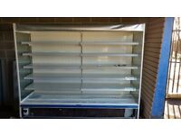 Commercial multideck display fridge open and integrated free delivery