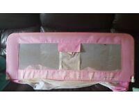 Pink Children Bed Rail Guard