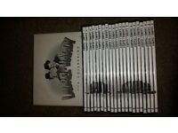 laurel and hardy dvds box set £15