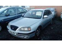 200 04 HYUNDAI ALANTRA 2.0 CRDI MOT SEPT GREAT DRIVER CLEAN CAR £595